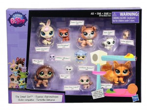 LPS Sweet Sort 11 zwierzaków Littlest Pet Shop B9754