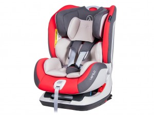 Fotelik Coletto VENTO 0-25kg ISOFIX Red 2017