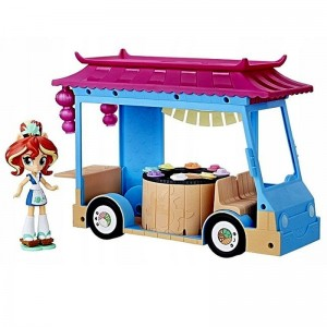 MY LITTLE PONY EQUESTRIA MLP food truck SUSHI