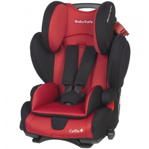 BabySafe COLLIE 9-36kg Racing Red