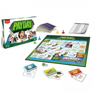HASBRO MONOPOLY PAYDAY wersja pl