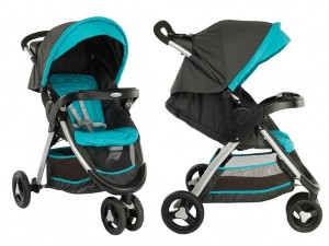 GRACO FASTACTION wózek spacerowy Ocean Grey