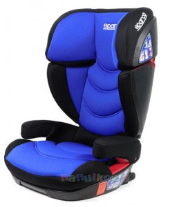 Fotelik F700i FIT SPARCO 15-36kg ISOFIX BLUE RACING
